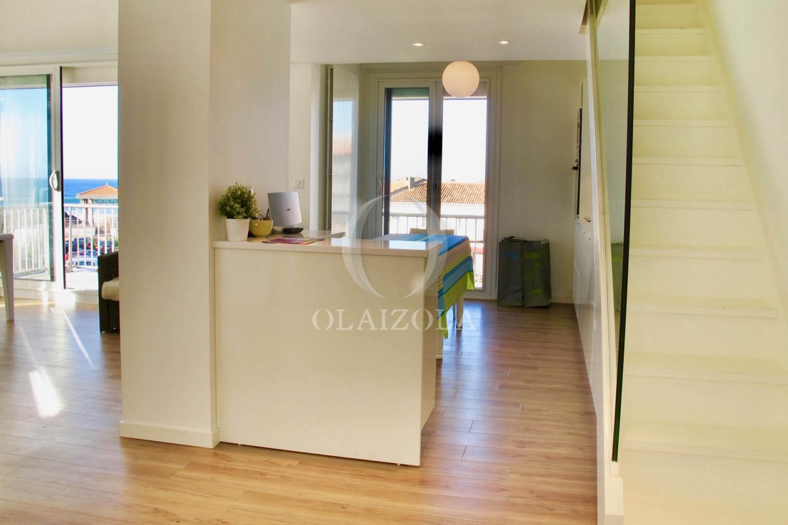 vue mer chambre d amour agence olaizola location saisonni re de vacances biarritz et sur On location vacances standing