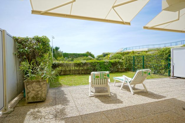 location-vacances-T4-Bidart-ilbarritz-roseraie-vue-mer-plage-parking-piscine - 008
