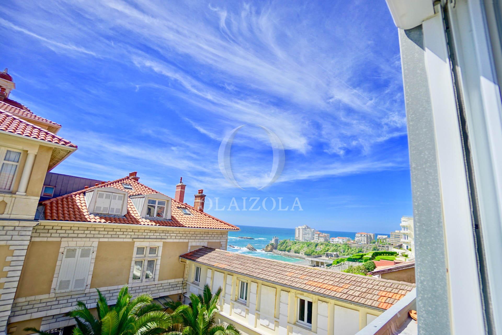 La cote des basques a vos pieds agence olaizola - Magnifique appartement de vacances pubillones ...