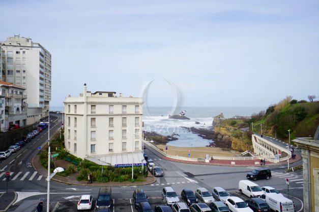 location-vacances-biarritz-appartement-T2-proche-centre-ville-plages-vue-mer-port-vieux-parking-001