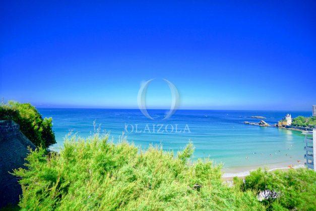 location-vacances-biarritz-agence-olaizola-cote-basque-plages-centre-ville-terrasse-vue-mer-parking-008