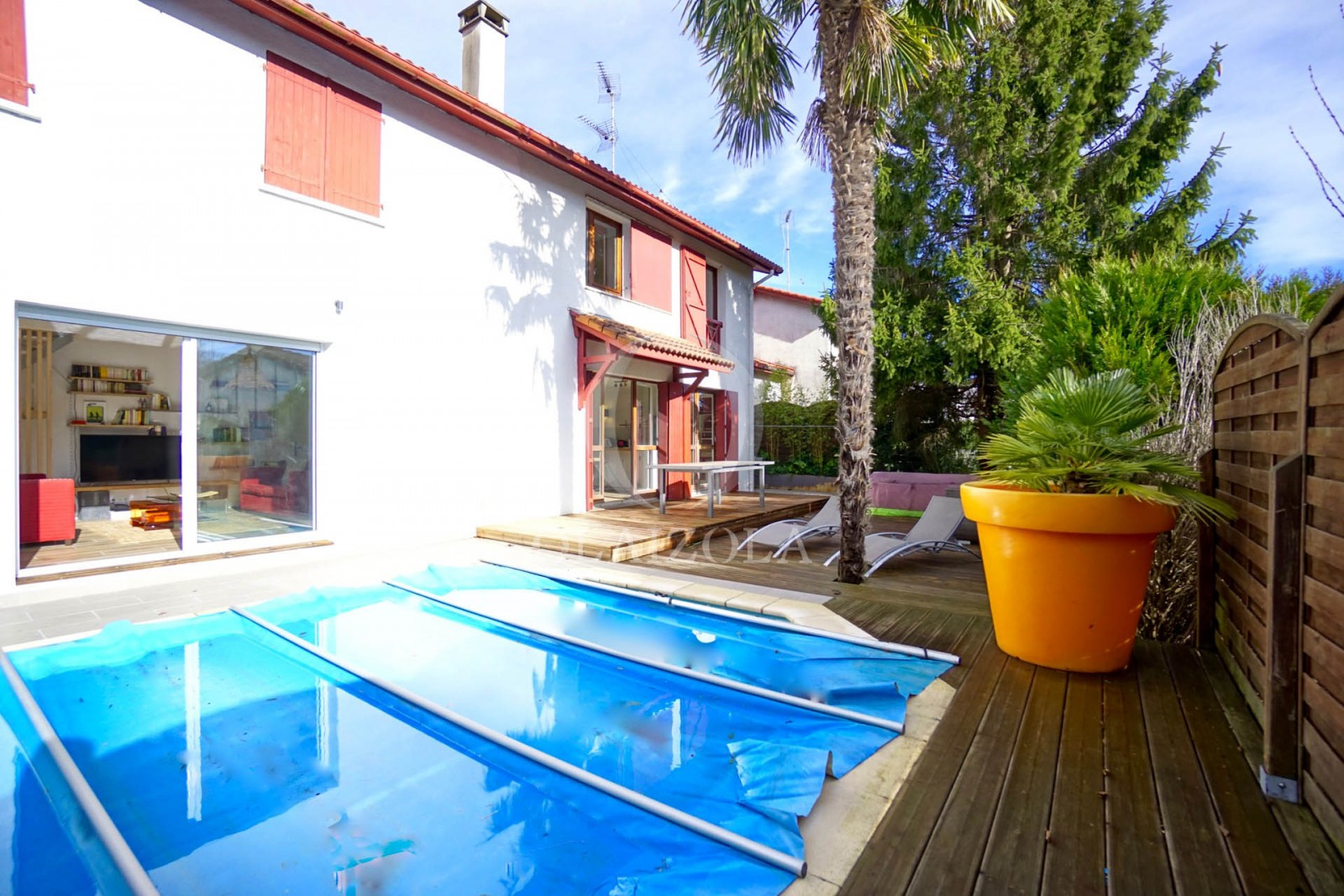Villa au calme avec piscine agence olaizola location - Location villa collioure avec piscine ...